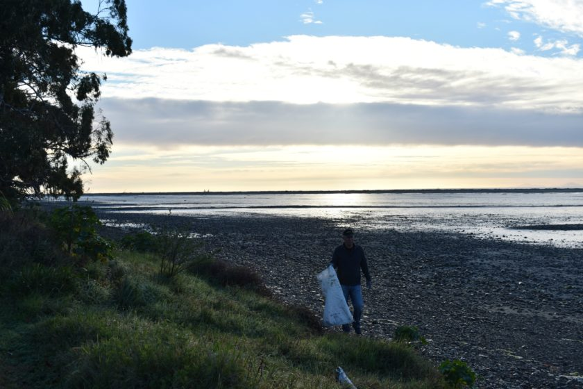 Beach Cleaning – Milnes Beatson Style!